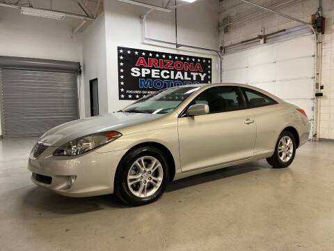 2004 Toyota Camry Solara for sale at Arizona Specialty Motors in Tempe AZ