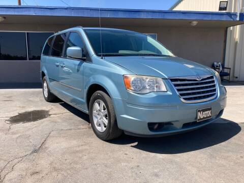 2010 Chrysler Town and Country for sale at AUTO NATIX in Tulare CA