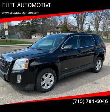 2012 GMC Terrain for sale at ELITE AUTOMOTIVE in Crandon WI