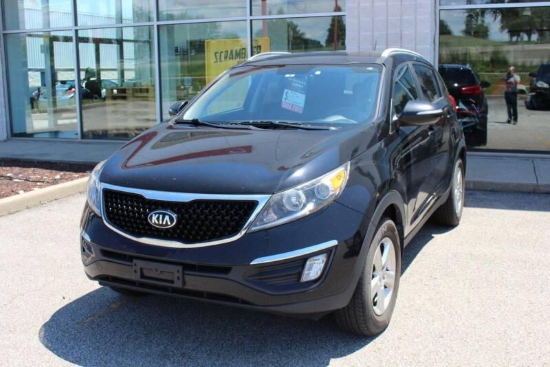 2016 Kia Sportage for sale at Peninsula Motor Vehicle Group in Oakville NY
