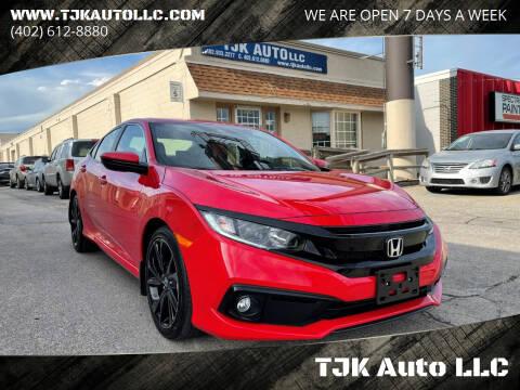2020 Honda Civic for sale at TJK Auto LLC in Omaha NE