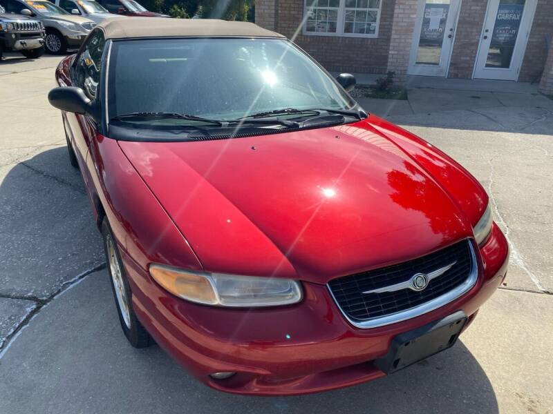 2000 Chrysler Sebring for sale at MITCHELL AUTO ACQUISITION INC. in Edgewater FL