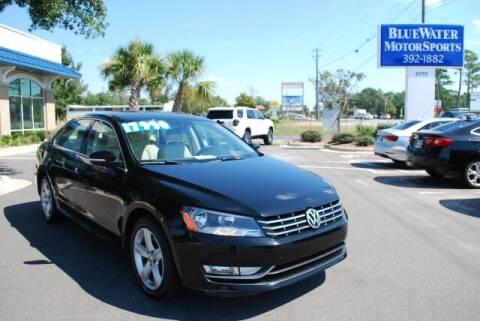 2015 Volkswagen Passat for sale at BlueWater MotorSports in Wilmington NC
