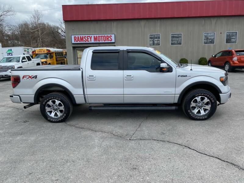 2013 Ford F-150 for sale at Ramsey Motors in Riverside MO