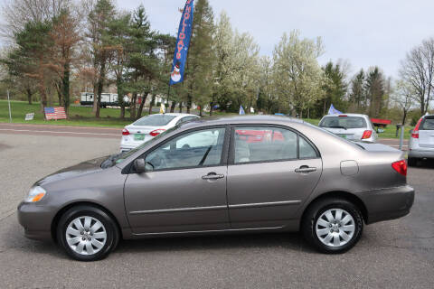 2004 Toyota Corolla for sale at GEG Automotive in Gilbertsville PA