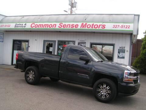 2017 Chevrolet Silverado 1500 for sale at Common Sense Motors in Spokane WA