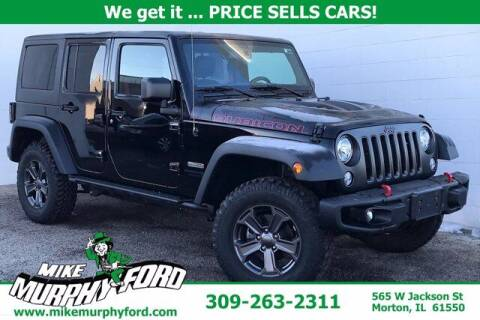 2018 Jeep Wrangler JK Unlimited for sale at Mike Murphy Ford in Morton IL