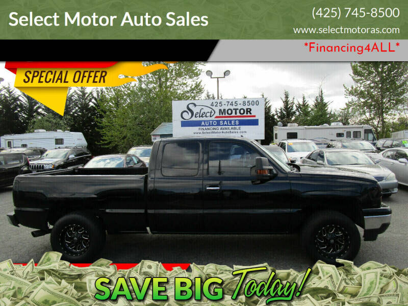 2006 Chevrolet Silverado 1500 for sale at Select Motor Auto Sales in Lynnwood WA