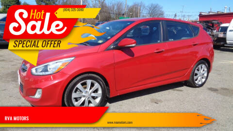 2014 Hyundai Accent for sale at RVA MOTORS in Richmond VA