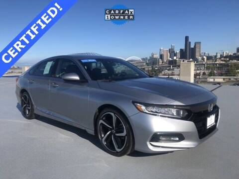 2020 Honda Accord for sale at Honda of Seattle in Seattle WA