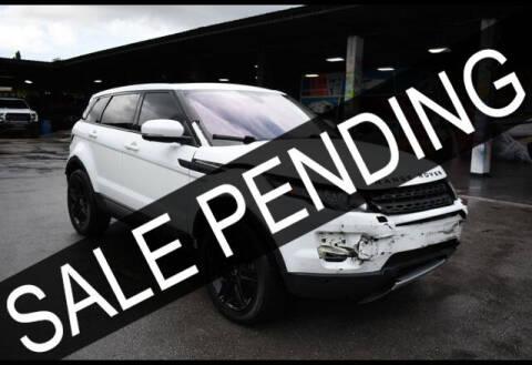 2012 Land Rover Range Rover Evoque for sale at ELITE MOTOR CARS OF MIAMI in Miami FL