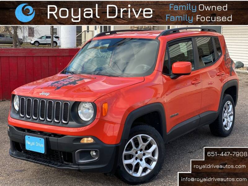2015 Jeep Renegade for sale at Royal Drive in Newport MN