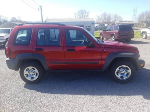 2007 Jeep Liberty for sale at CAR-MART AUTO SALES in Maryville TN