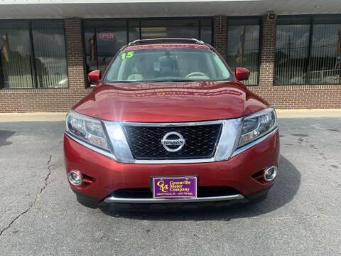 2015 Nissan Pathfinder for sale at Washington Motor Company in Washington NC