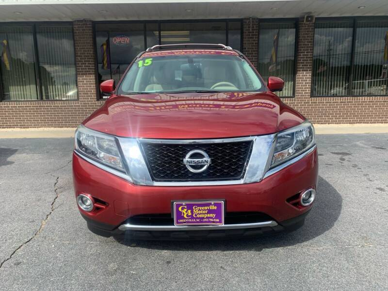 2015 Nissan Pathfinder for sale at Greenville Motor Company in Greenville NC