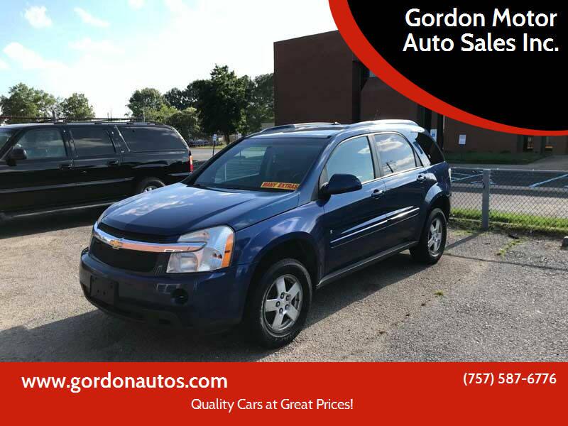 2008 Chevrolet Equinox for sale at Gordon Motor Auto Sales Inc. in Norfolk VA