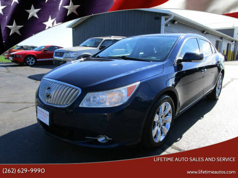 2010 Buick LaCrosse for sale at Lifetime Auto Sales and Service in West Bend WI