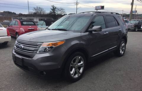 2013 Ford Explorer for sale at 222 Newbury Motors in Peabody MA