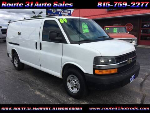 2009 Chevrolet Express Cargo for sale at ROUTE 31 AUTO SALES in McHenry IL