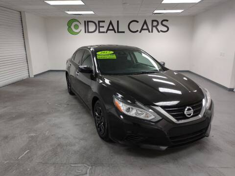 2017 Nissan Altima for sale at Ideal Cars Atlas in Mesa AZ
