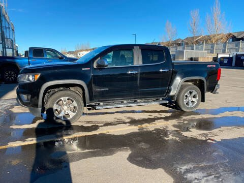 2016 Chevrolet Colorado for sale at Canuck Truck in Magrath AB