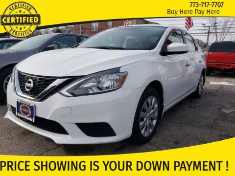 2017 Nissan Sentra for sale at AutoBank in Chicago IL