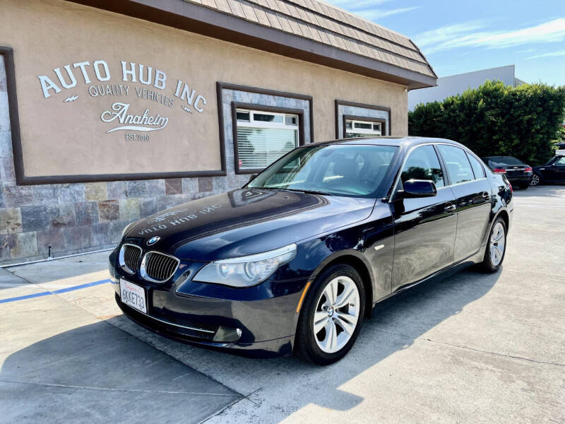 2010 BMW 5 Series for sale at Auto Hub, Inc. in Anaheim CA