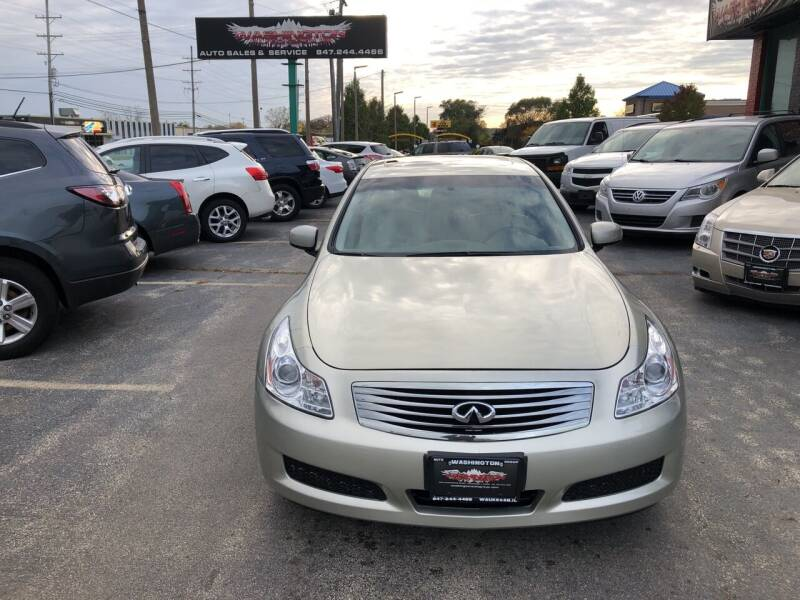 2007 Infiniti G35 for sale at Washington Auto Group in Waukegan IL