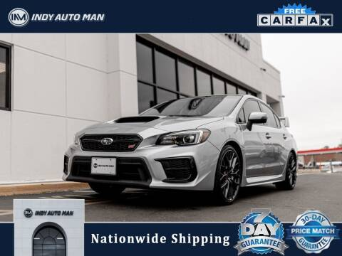 2018 Subaru WRX for sale at INDY AUTO MAN in Indianapolis IN