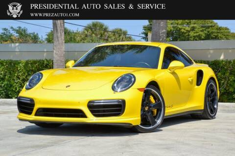 2017 Porsche 911 for sale at Presidential Auto  Sales & Service in Delray Beach FL