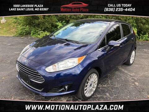 2016 Ford Fiesta for sale at Motion Auto Plaza in Lakeside MO
