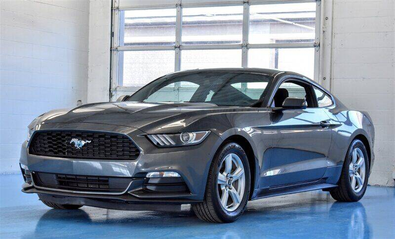 2017 Ford Mustang for sale at Mershon's World Of Cars Inc in Springfield OH