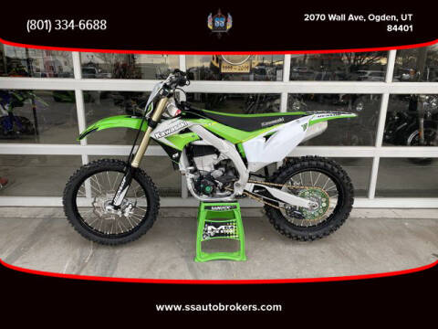 2019 Kawasaki KX450 for sale at S S Auto Brokers in Ogden UT