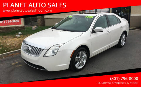 2010 Mercury Milan for sale at PLANET AUTO SALES in Lindon UT