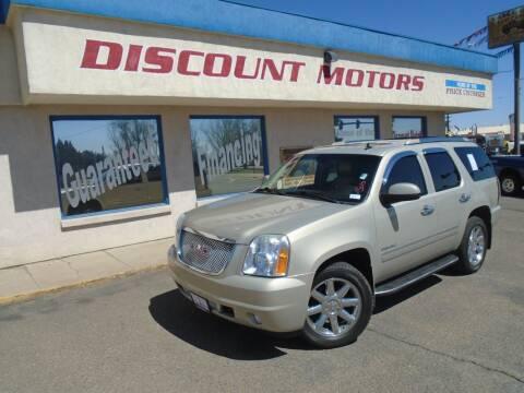 2010 GMC Yukon for sale at Discount Motors in Pueblo CO