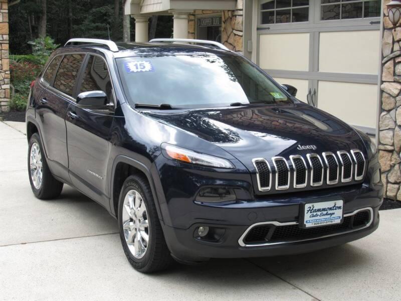 2015 Jeep Cherokee for sale at Hammonton Auto Exchange in Hammonton NJ