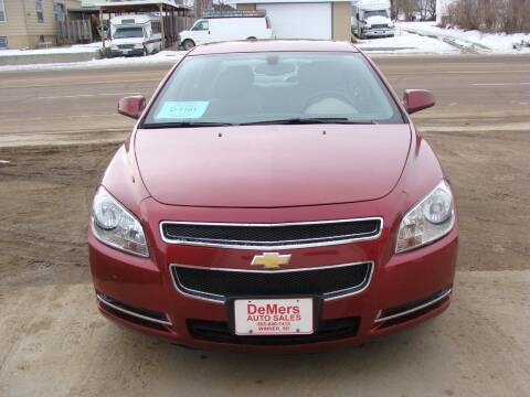 2011 Chevrolet Malibu for sale at DeMers Auto Sales in Winner SD