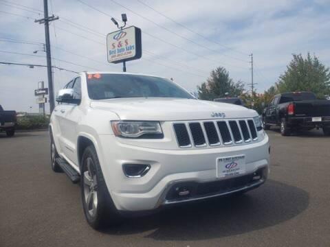 2014 Jeep Grand Cherokee for sale at S&S Best Auto Sales LLC in Auburn WA