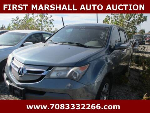 2007 Acura MDX for sale at First Marshall Auto Auction in Harvey IL