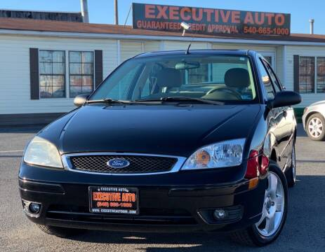 2007 Ford Focus for sale at Executive Auto in Winchester VA