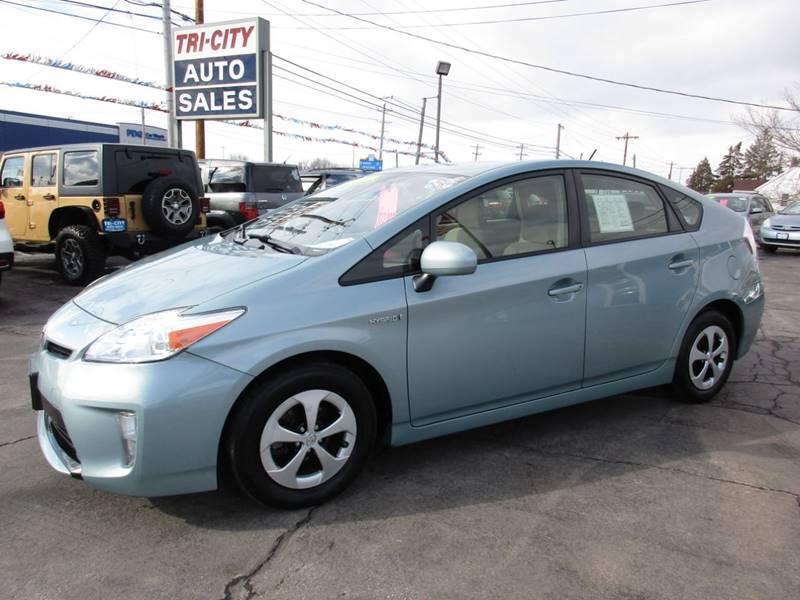2014 Toyota Prius for sale at TRI CITY AUTO SALES LLC in Menasha WI