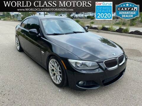 2012 BMW 3 Series for sale at World Class Motors LLC in Noblesville IN