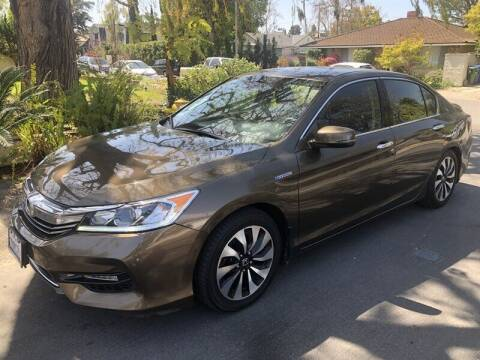 2017 Honda Accord Hybrid for sale at Boktor Motors in North Hollywood CA