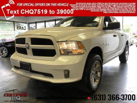 2018 RAM Ram Pickup 1500 for sale at CERTIFIED HEADQUARTERS in St James NY