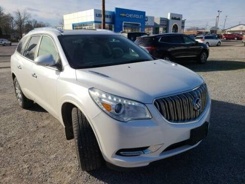 2017 Buick Enclave for sale at LeMond's Chevrolet Chrysler in Fairfield IL