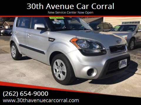 2012 Kia Soul for sale at 30th Avenue Car Corral in Kenosha WI