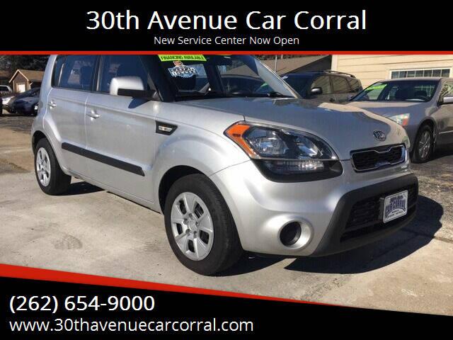 2012 Kia Soul for sale at 30th Avenue Car Corral in Kenosha WI