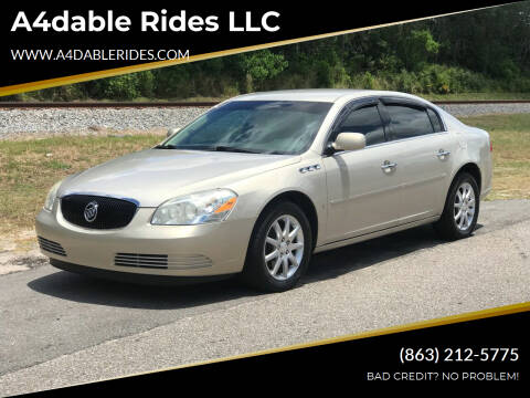 2008 Buick Lucerne for sale at A4dable Rides LLC in Haines City FL