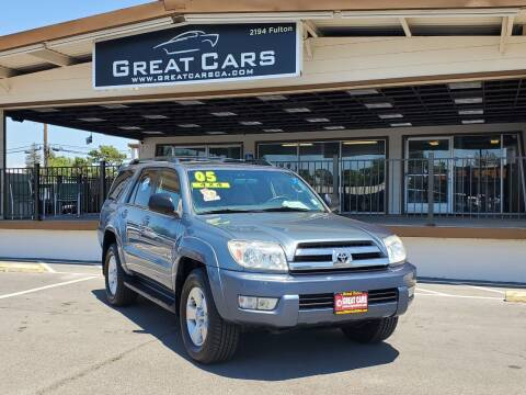 2005 Toyota 4Runner for sale at Great Cars in Sacramento CA