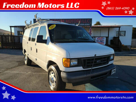 2007 Ford E-Series Cargo for sale at Freedom Motors LLC in Knoxville TN